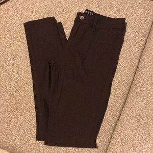 Size 5 fashion nova mocha skinnies stretchy